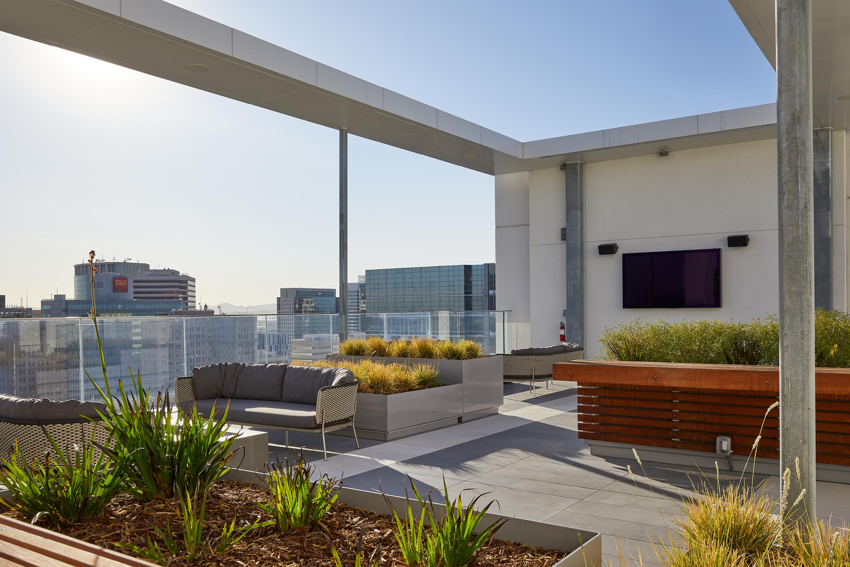 Outdoor Roof Deck