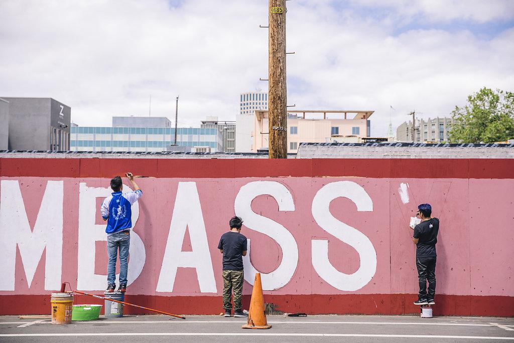 Oakland street art painting