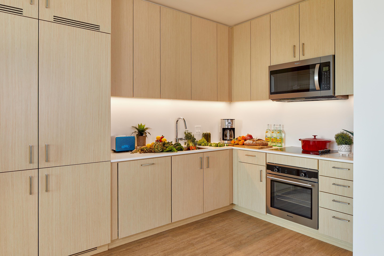 Apartment Kitchen | ZO Oakland Apartments