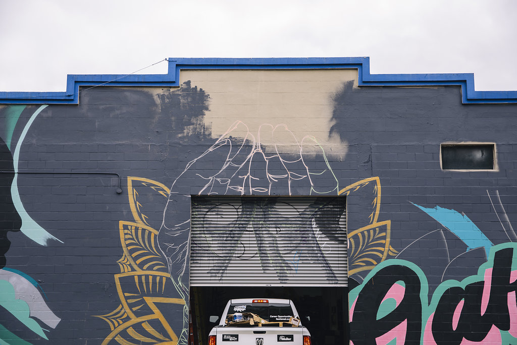 Wall Mural in Neighborhood | ZO Oakland Apartments