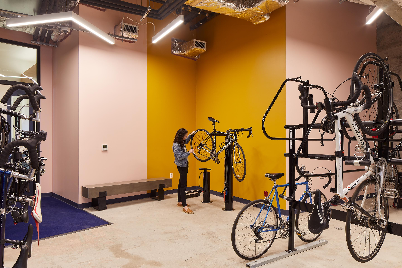 Bike Room | ZO Oakland Apartments